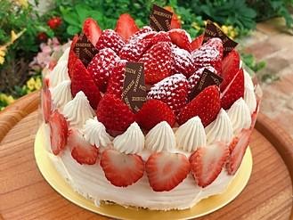 いちご ケーキ画像