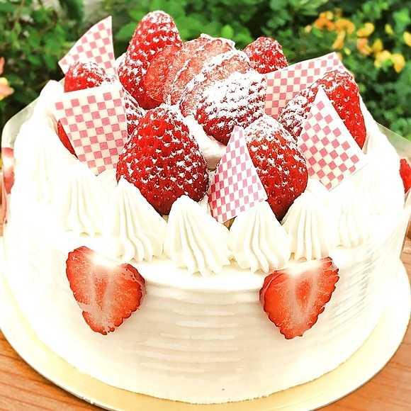誕生日ケーキバナー